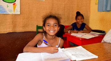 education chez Akany Avoko