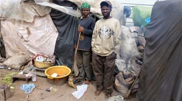 Familles malgaches aidées par l'association ASA à Madagascar