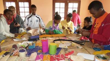 insertion de familles malgaches grace à l'association ASA à Madagascar