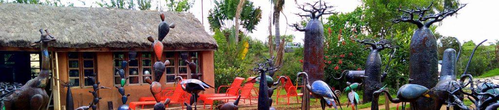 la ferblanterie de Dieudonné et violette à Madagascar