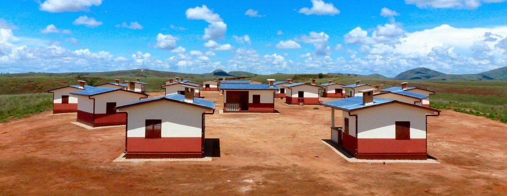 découverte du village de l'association ASA à Madagascar