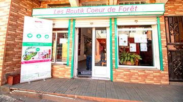Visitez les boutiques coeur de forêt à Madagascar